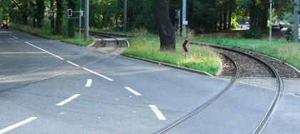 Gleisbauvorhaben Klingerweg