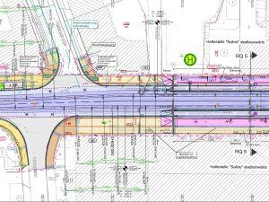 Stadtbahnprogramm Halle (Saale), Vorhaben 2.2 Mansfelder Straße West