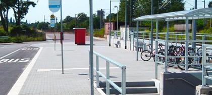 Bahnhofsumfeld Schkeuditz