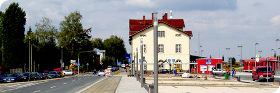 Bahnhofsumfeld Geithain